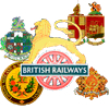 Local railway company crests