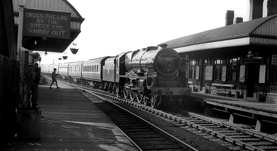 Albion Station, 1950s (Steve Jones Collection)