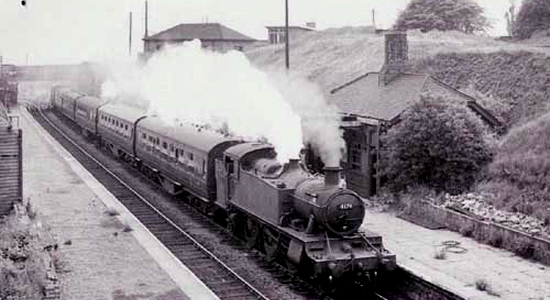 Blowers Green station, 1962 (Michael Mensing)