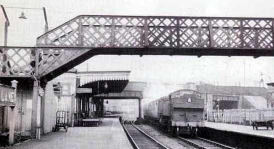 Brettell Lane station 1961(photo: John Dew)