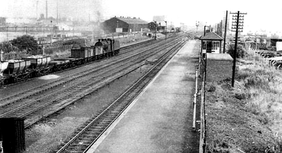 Bromford Bridge station 1962 (B.Brooksbank)