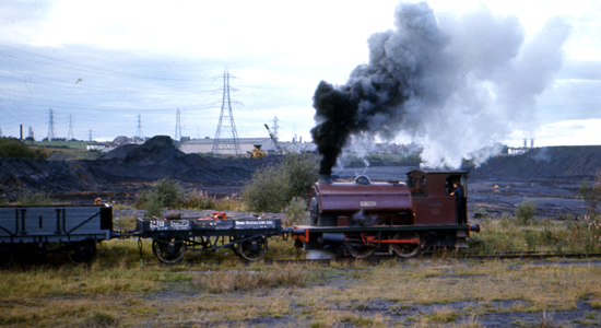 Chasewater Railway in the 1970s (David Bathurst)