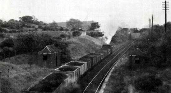 Gornal Halt, 1954 (M. Hale)