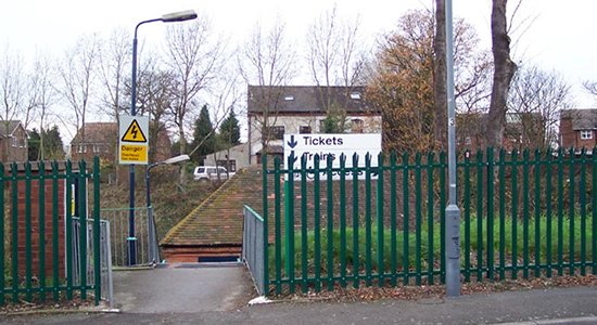 Gravelly Hill station Frederick Road entrance