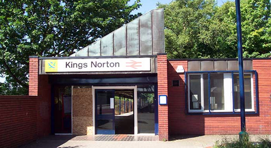 Kings Norton station booking office