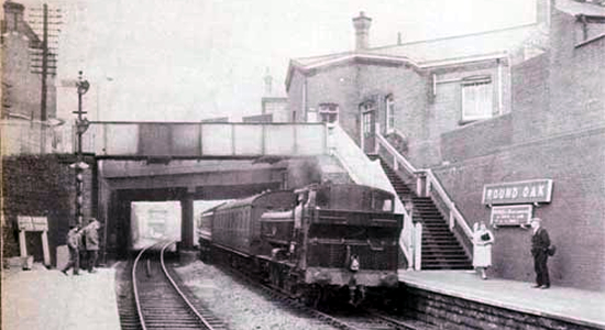 Round Oak station 1962 (John Dew)