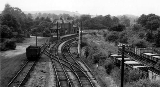 Rubery Station 1950s (DJ Norton)