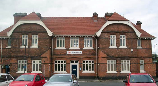 Shenstone station building