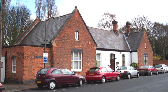 Sutton Town station building, Midland Drive