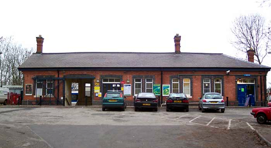 Warwick station booking office