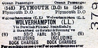 Wolverhampton Low Level station ticket