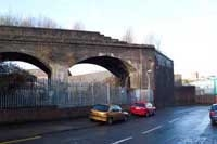 Duddeston Viaduct, Motague Street