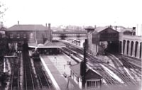 Dudley station 1955