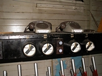 Longbridge works railway signal box equipment