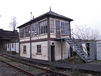 Ex-Midland Railway Longbridge works signal box