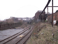 Longbridge works railway shed and branch