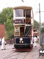 Sheffield Corporation Tramways No.74