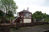 Butterley station signal box