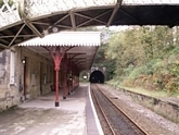 Cromford station and Willersley Tunnel