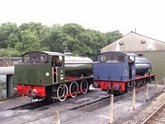 Waggoner and Royal Engineer in sidings