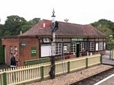 Havenstreet station building
