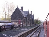 Darley Dale station down platform waiting rooms