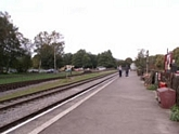 Rowsley station towards Buxton