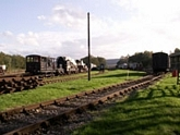 Rowsley station sidings