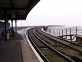 View to Ryde Pier station