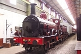 Kirtley 2-4-0 No.158A in the museum