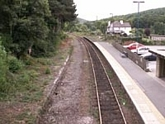 Whatstandwell station view towards Ambergate station