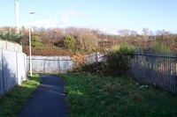 Baptist End Halt site from Round Street