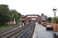 Station from signal box