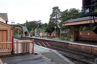 Bewdley station island platform from footbridge