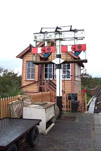 Signal box &smp; semaphore signal array