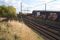 Bilston Central station site towards Bradley