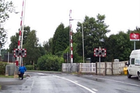 Blackdown station, Mill Lane level crossing