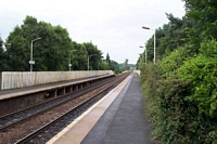 Blakedown station towards Hagley