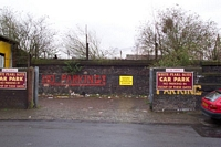 Entrance to Bordesley cattle station, Upper Trinity St