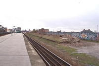 Disused plaform looking towards Moor St