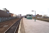 Along platform towards Moor Street