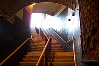 Staircase to platform from Coventry Road