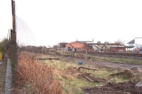 Bordesley station site from cattle station drive
