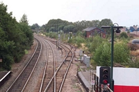 Looking away from Lickey incline