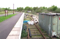 Disused siding Chasewater Heaths station