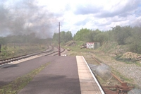 Chasewater Heaths station towards Brownhills West