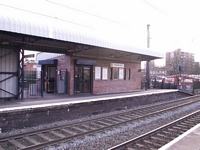 Chester Road station ticket office