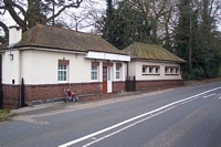 Claverdon station buildings, Station Road