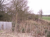 Coughton station bridge site, Sambourne Rd