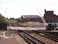 Cradley Heath station level crossing, Woods Lane